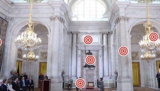 Así es el Salón de Columnas de Palacio Real (FOTO