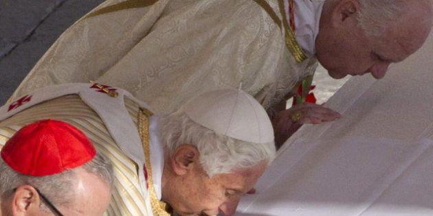 Jorge Fernández Díaz, a Benedicto XVI: