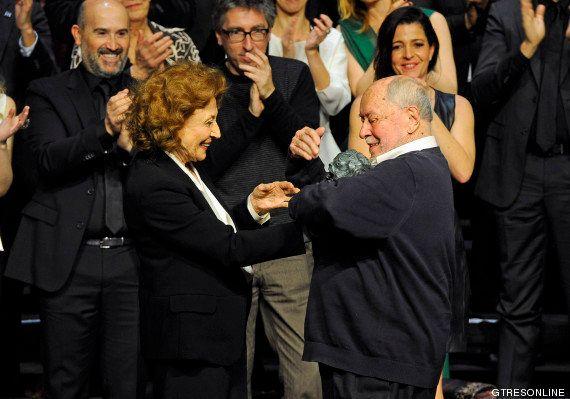 Puyas al gobierno y homenaje a Armiñán en la fiesta previa a los Goya 2014