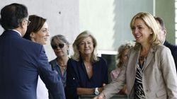 La infanta Cristina y su secretario imputado visitan al