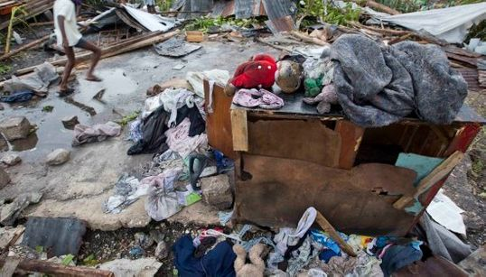 La destrucción del huracán Matthew