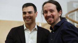 Pedro Sánchez, Pablo Iglesias y el Wu