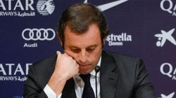 Sandro Rosell dimite como presidente del