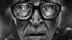 Esta es la mirada de una persona sin hogar