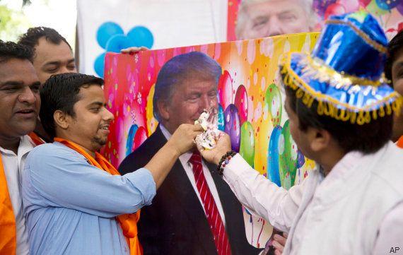 El calificativo loco que la extrema derecha india ha dedicado a Trump en su