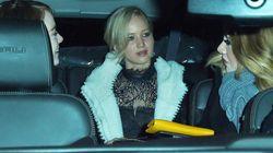 La mejor noche de chicas: Adele, Jennifer Lawrence y Emma Stone,