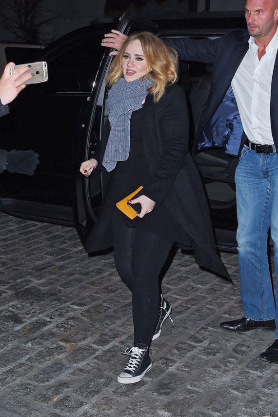 La mejor noche de chicas: Adele, Jennifer Lawrence y Emma Stone, juntas en Nueva