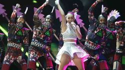 El espectáculo estuvo servido: el concierto de Katy Perry en