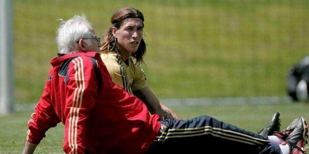 Ramos se acuerda de Luis Aragonés para responder a sus críticos: