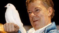 El presidente de Colombia, Juan Manuel Santos, Nobel de la Paz