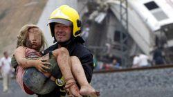 17 imágenes del accidente de Santiago difíciles de