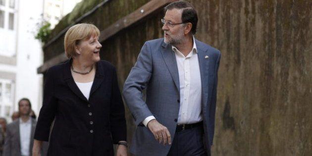 El menú de Merkel y Rajoy en su cena privada en