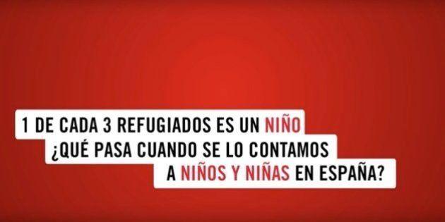 Save The Children lanza un vídeo que recoge la opinión de los niños sobre la crisis de los