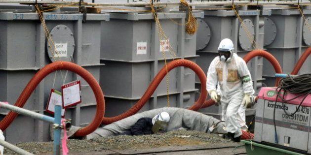 Fukushima sufre una fuga de 300 toneladas de agua
