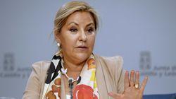 Rosa Valdeón, vicepresidenta de Castilla y León, retenida por conducir triplicando la tasa de