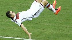 La voltereta regulera de Klose y otras imágenes curiosas del Mundial