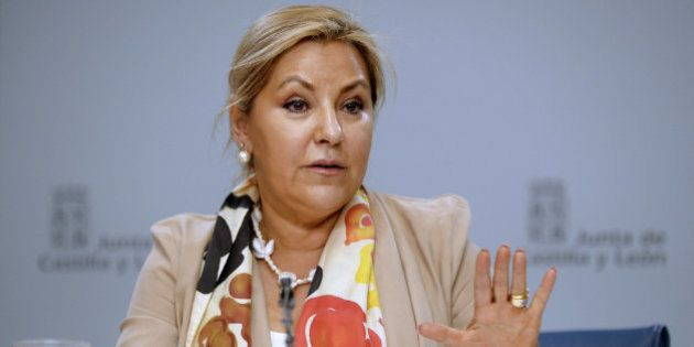 La vicepresidenta de Castilla y León, retenida por conducir triplicando la tasa de