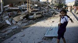 579 palestinos asesinados en los bombardeos de