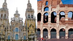 Catedral de Santiago y Coliseo, ¿por cuál te inclinas?