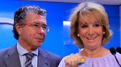 Esperanza Aguirre, en la declaración de Marjaliza ante el