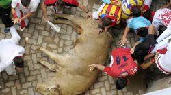 21 heridos en un angustioso encierro en San Fermín
