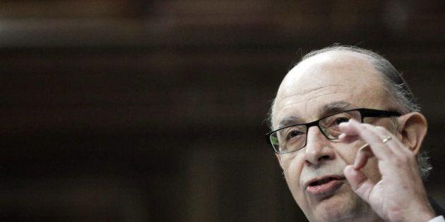 Montoro anuncia que el déficit del Estado hasta septiembre se sitúa en el