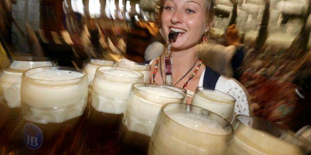 Arranca el Oktoberfest de Múnich, donde se consumirán cerca de 6,5 millones de litros de cerveza