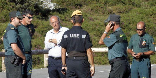 La Guardia Civil rescata a los cuatro espeleólogos madrileños de una cueva de
