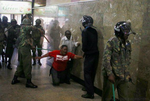 La imagen de la brutalidad policial que ha conmocionado a