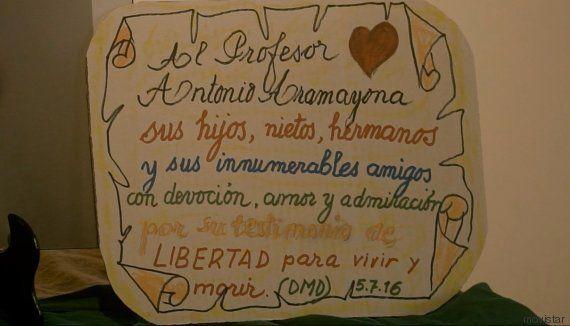 El suicidio de Antonio Aramayona, en el último capítulo de