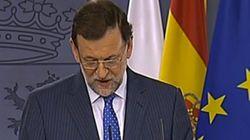 Rajoy leyó su respuesta: una mirada al papel cada 4 segundos