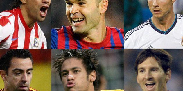 Falcao, Messi, Cristiano, Iniesta y Xavi, candidatos a 'Mejor Jugador 2012' de 'World