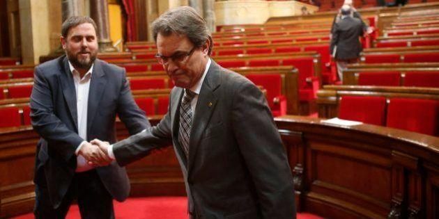 CiU y ERC no concurrirán juntos a las elecciones