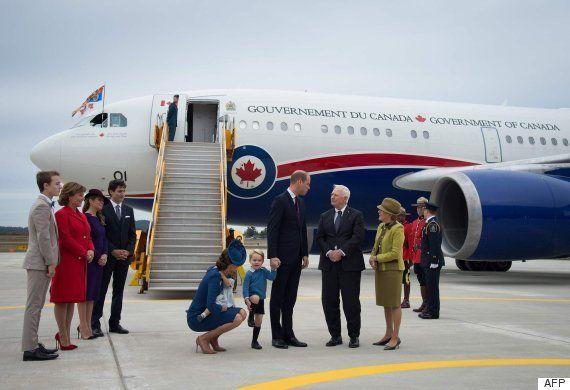 El saludo fallido entre Justin Trudeau y el príncipe