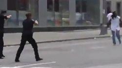 La policía mata a tiros a un hombre en Times Square