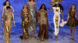 Homenaje a la moda británica... y sus supermodelos