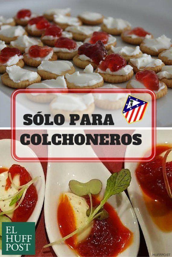 Pinchos colchoneros: propuestas gastronómicas para fans del Atlético de
