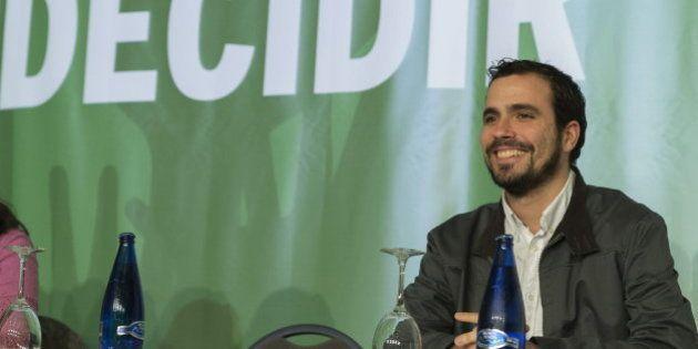 Alberto Garzón y Nicolás García, precandidatos a La Moncloa por