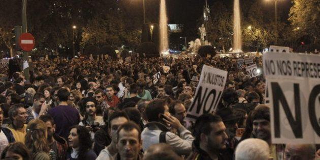 23-O Rodea el Congreso: Más de mil personas se concentran contra los