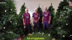 Así han felicitado la Navidad los deportistas