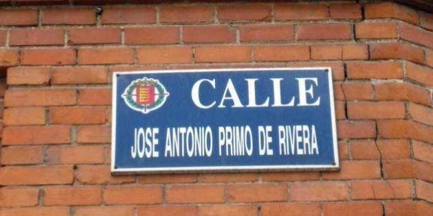 Cientos de firmas para que la calle Primo de Rivera de Valladolid se llame 20 de abril del