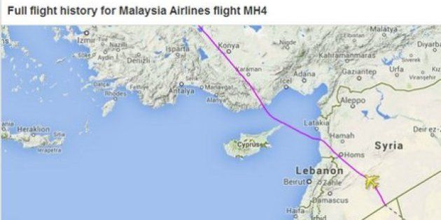 Avión de Malasia: Malaysia Airlines cambia su ruta desde Londres y ahora sobrevuela...