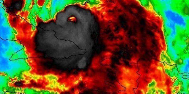 Alucina con el SINIESTRO retrato del huracán