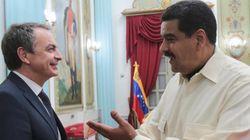 Zapatero se reúne con Maduro en