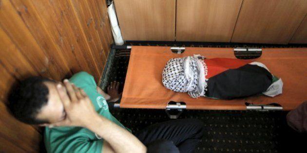 Un bebé palestino, quemado vivo por colonos en