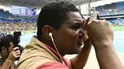 Este es el fotógrafo ciego de los Juegos Paralímpicos de