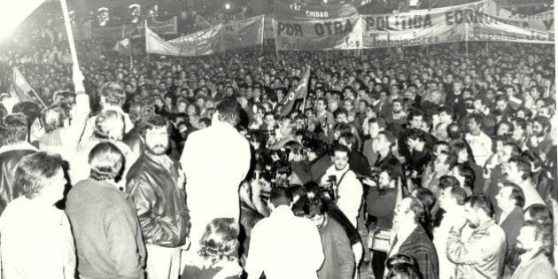 25 años de la gran huelga general de 1988, un éxito difícilmente repetible hoy en día (FOTOS,