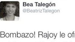 Beatriz Talegón hace el ridículo con esta exclusiva en