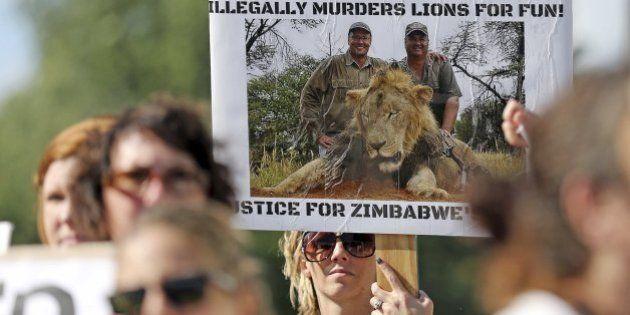 Zimbabue pide a EEUU la extradición del dentista Walter Palmer por matar a