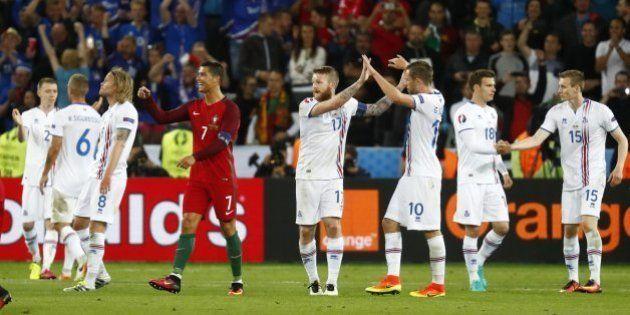 Cristiano, tras el empate con Islandia:
